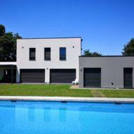 Maison individuelle toit terrasse